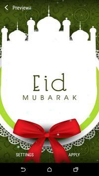 Eid Mubarak Live Wallpaper apk screenshot