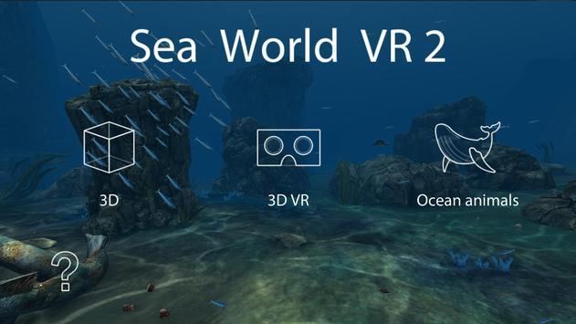 Sea World VR2 poster