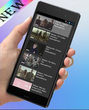 Matisse-Novedades Musica y Letras(Acuérdate de mí) apk screenshot