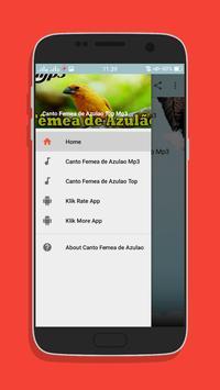 Canto Femea de Azulao Top Mp3 screenshot 1