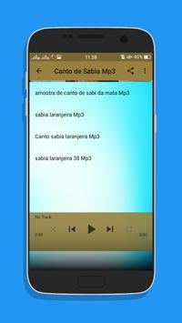 Canto de Sabia Top Mp3 screenshot 2