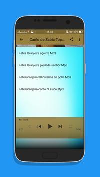 Canto de Sabia Top Mp3 screenshot 5
