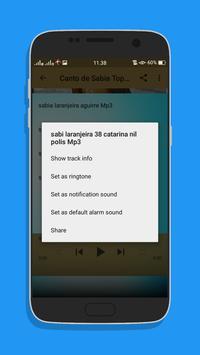 Canto de Sabia Top Mp3 screenshot 6