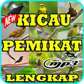 Kicau 1000 Burung Pemikat Top Mp3 icon
