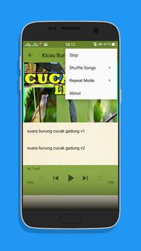 Kicau Burung Cucak Lengkap Mp3 screenshot 5