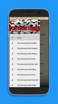 Kicau Burung Cucak Lengkap Mp3 screenshot 1