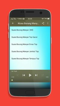 Kicau Burung Manyar Top Mp3 screenshot 3