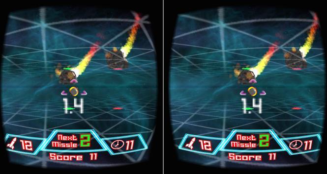 Meteors (Cardboard) apk screenshot