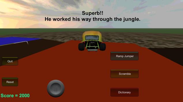 Word Driver Lite apk screenshot