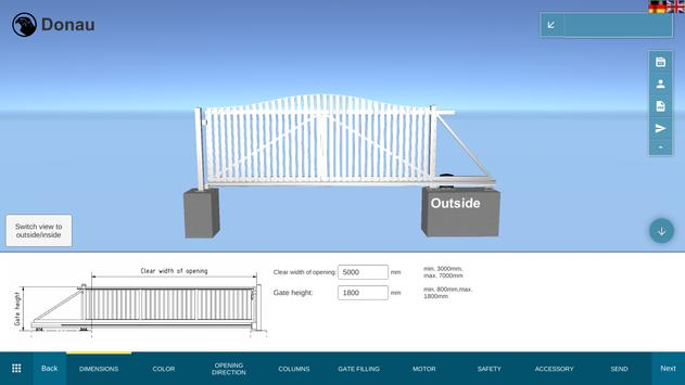 Falken Gate Configurator screenshot 6