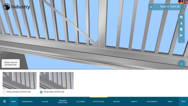 Falken Gate Configurator screenshot 9