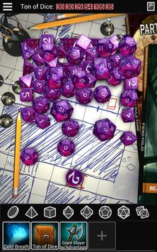 Dice To Go: Tabletop RPG Roller apk screenshot