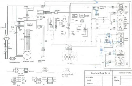 [View 43+] Schematic Diagram Of Electric Scooter