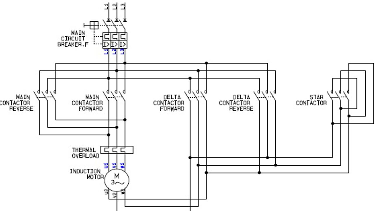Electrical Motor Wiring Diagrams For