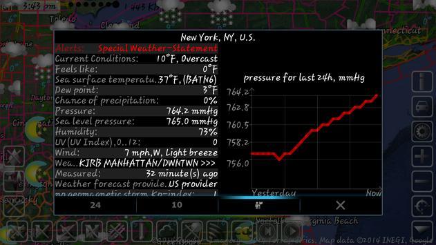 Weather Map With Hurricane Tracks And Future Radar Apk Screenshot