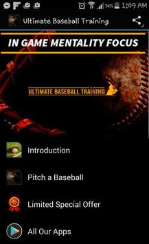 Baseball Training Course poster