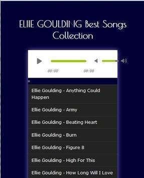 ELLIE GOULDING Best Songs Hits poster
