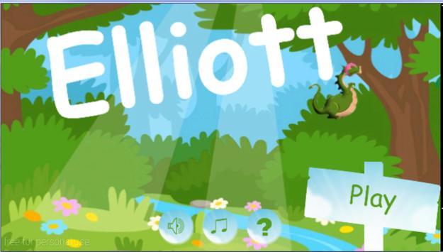 Elliott Dragon Game poster