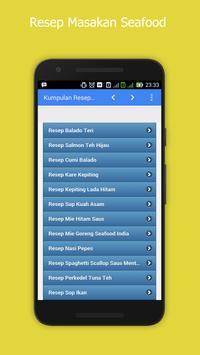 Resep Ramadhan Masakan Seafood apk screenshot