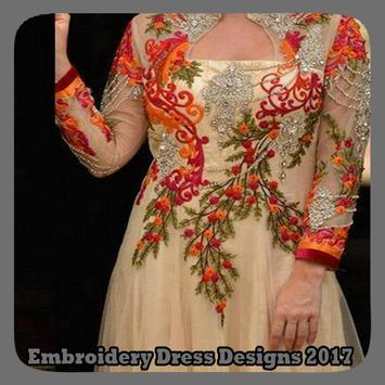 Embroidery Dress Designs 2017 poster
