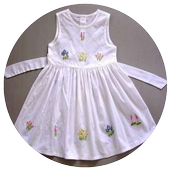 Embroidery Dress Ideas icon