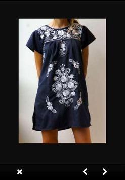 Embroidery Dress Ideas screenshot 1