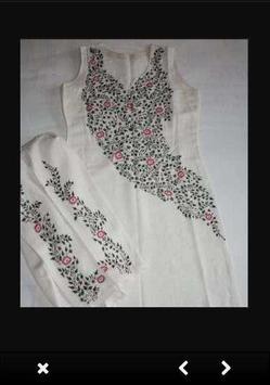 Embroidery Dress Ideas screenshot 3