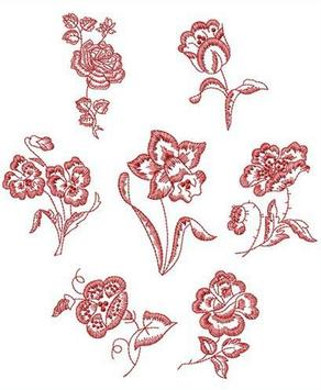 Embroidery Pattern Idea poster