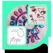 Embroidery Stitch Tutorial icon