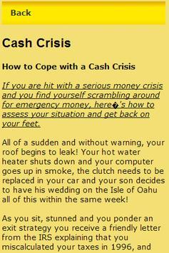 Emergency Need Money screenshot 1