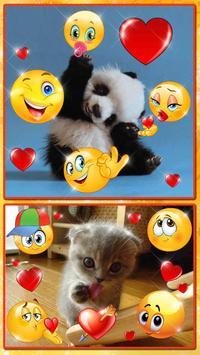 Editor de Fotos con Emojis 😍😊 Pegatinas de Fotos captura de pantalla 4