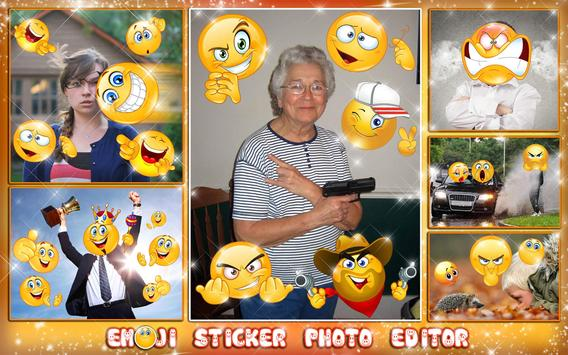 Emoji Face Photo Editor 😍😊 Stickers For Pictures screenshot 8