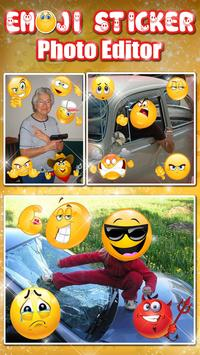 Emoji Face Photo Editor 😍😊 Stickers For Pictures poster