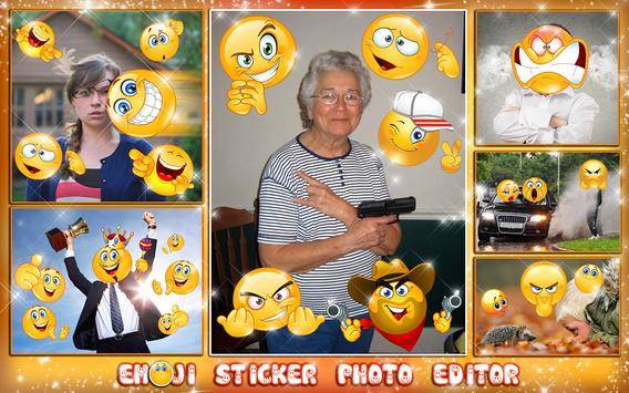Emoji Face Photo Editor 😍😊 Stickers For Pictures screenshot 11