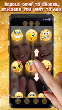 Editor de Fotos con Emojis 😍😊 Pegatinas de Fotos captura de pantalla 1