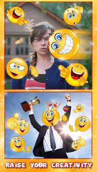 Emoji Face Photo Editor 😍😊 Stickers For Pictures screenshot 2