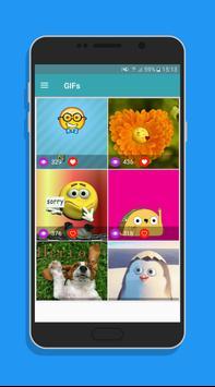 Cute GIF Emoji apk screenshot