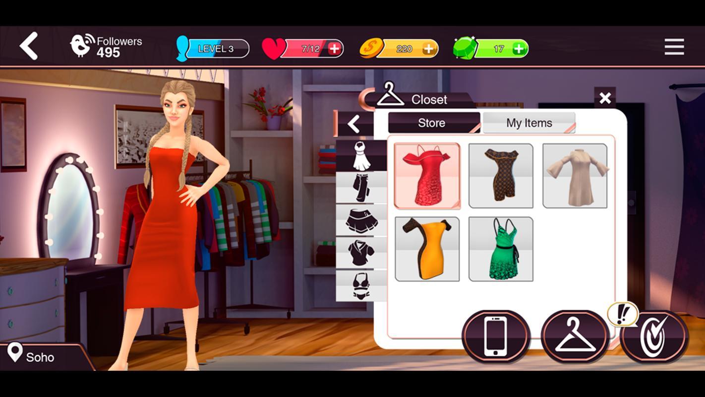 Top Model Games