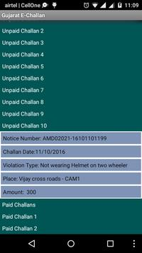 Gujarat E-Challan screenshot 3