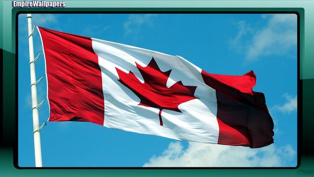 Canada Flag Wallpaper apk screenshot