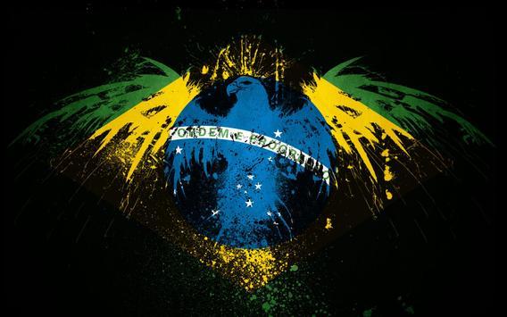 Brazil Flag Live Wallpaper apk screenshot