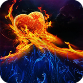 Fire And Ice Wallpaper icon