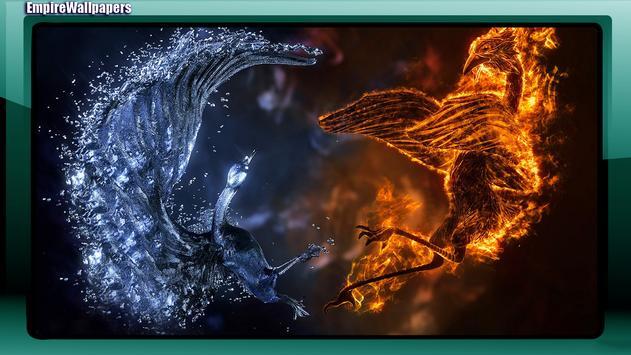 Fire And Ice Wallpaper apk screenshot