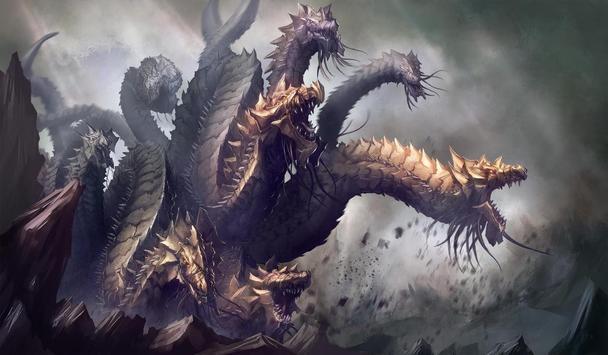 Hydra Monster Live Wallpaper poster