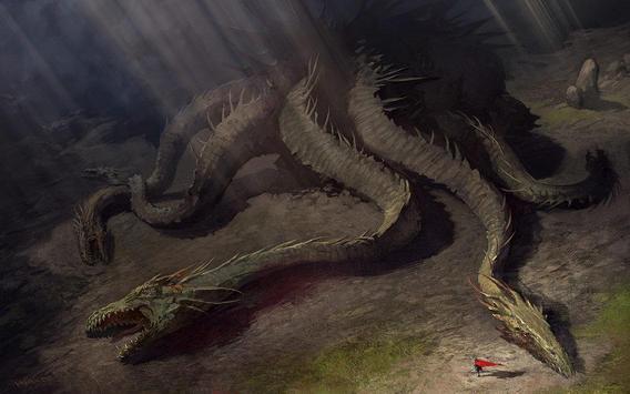 Hydra Monster Live Wallpaper screenshot 1