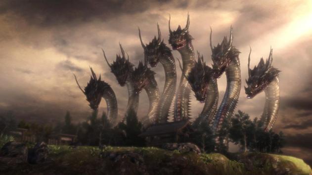 Hydra Monster Live Wallpaper screenshot 2