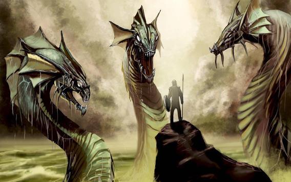 Hydra Monster Live Wallpaper screenshot 3