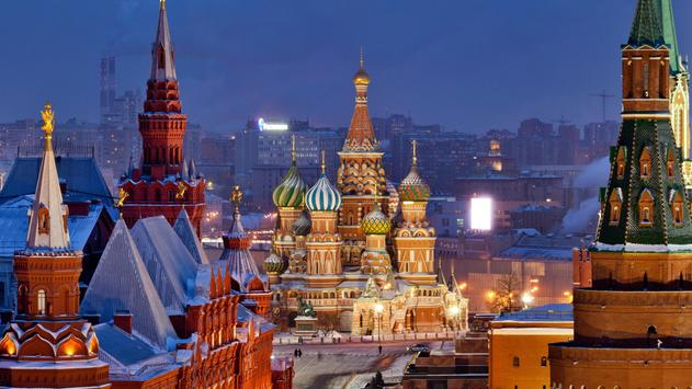 Moscow Russia Pack 2 Wallpaper poster
