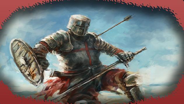 Templar Knight Wallpaper poster