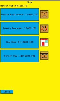 Burger idle clicker screenshot 2